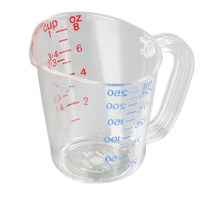 Carlisle 4314107 8 Ounce Oval Measuring Cup