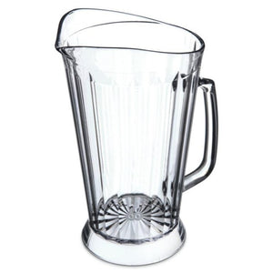 Carlisle 558307 48 Ounce Polycarbonate Pitcher With Skirt Base