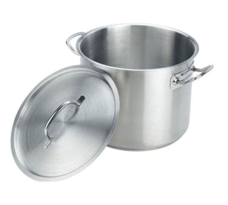 Crestware SSPOT24 24 Quart Induction Ready Stock Pot