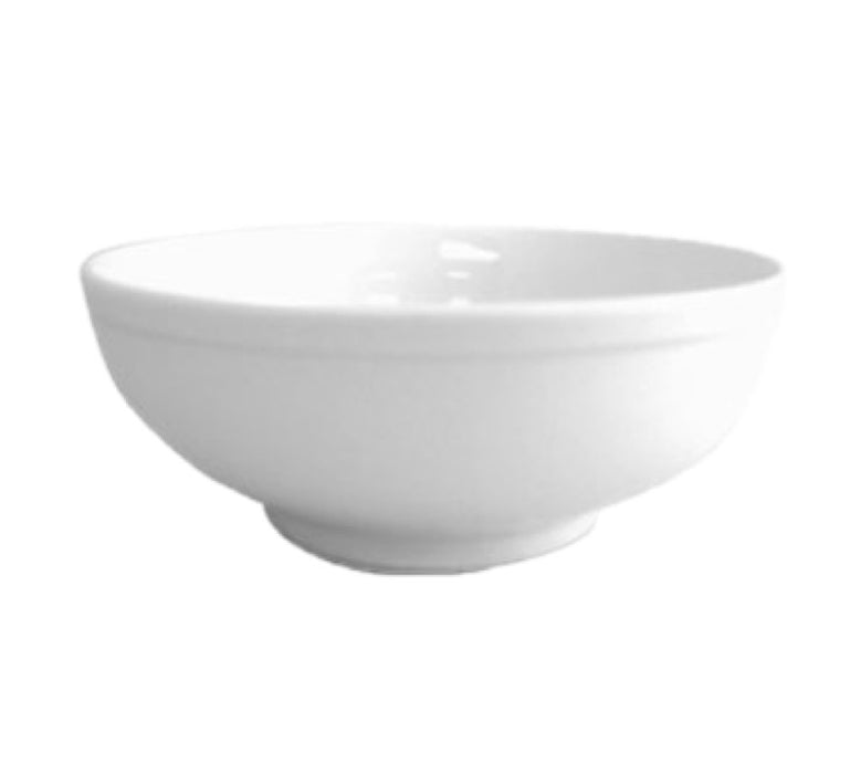 CAC China MB-7 Menudo 40 Ounce Bowl (Case Of 24) - White