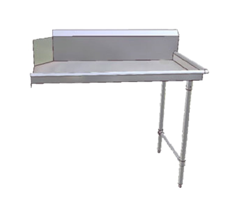 "John Boos JDTC-20-48R-X  48"" Clean Straight L To R Dishtable - Stainless Steel"