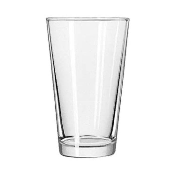 Libbey 1639HT Basics 16 Ounce Mixing Glass (Case Of 24)