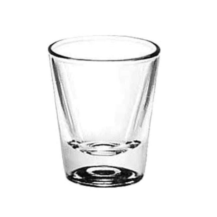 Libbey 5121 1.25 Ounce Whiskey Shot Glass (One Dozen)