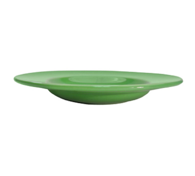 "CAC China LV-3-G 8 3/4"" Las Vegas Soup Bowl (Case Of 24) - Green"
