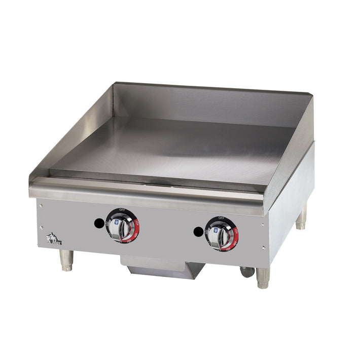 "Star 624TF 24"" Star Max Countertop Heavy Duty Gas Griddle"