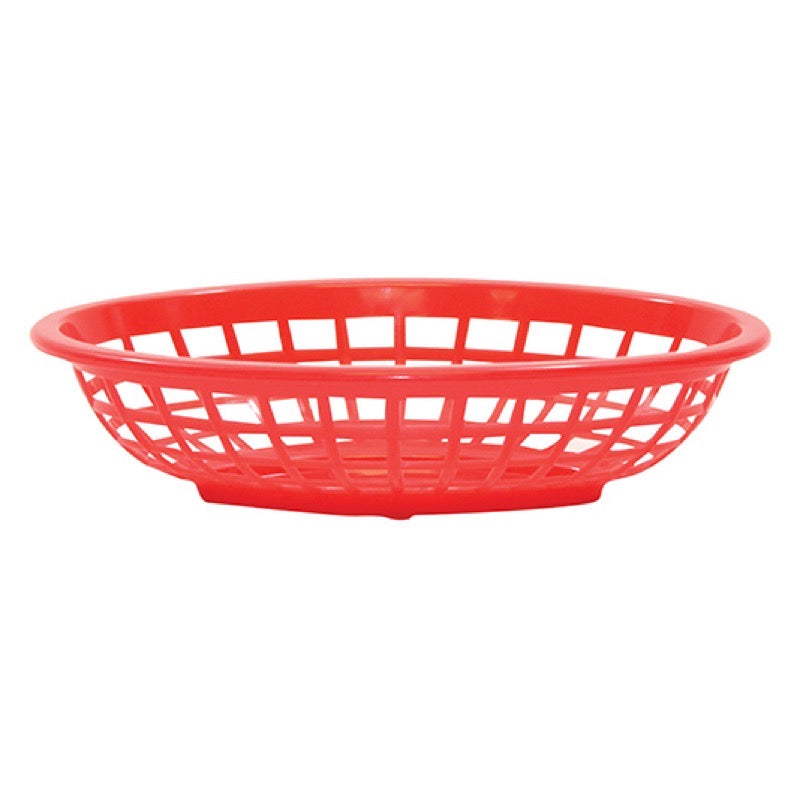 TableCraft 1071R Oval Side Order Basket 7 3/4
