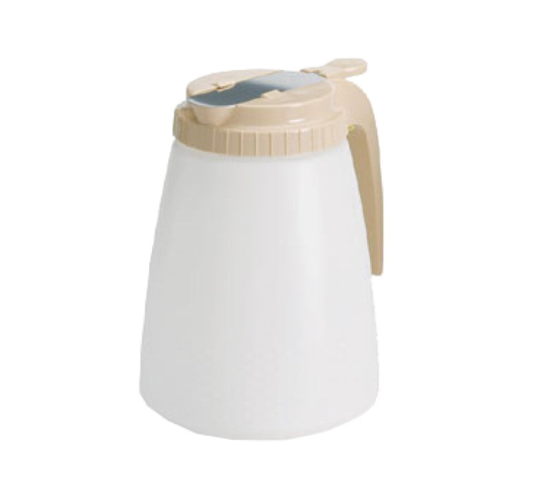 TableCraft 748A 48 Ounce All Purpose Dispenser - Almond Top