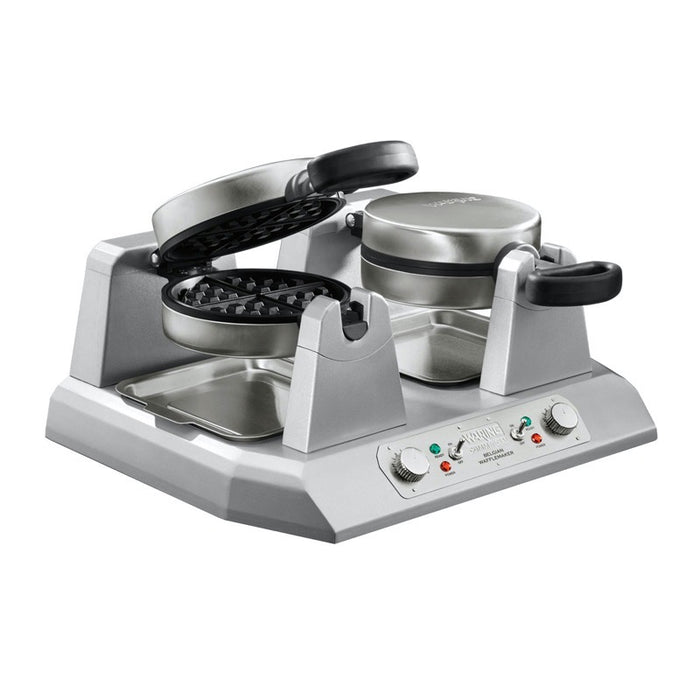 Waring WW250X Commercial Belgian Side-By-Side Waffle Maker