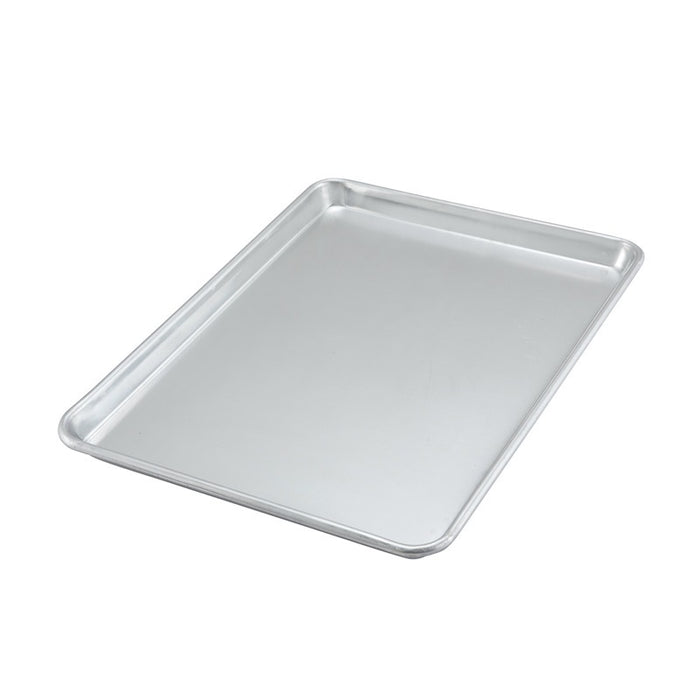 "Winco ALXP-1318 Sheet Pan/Serving Tray Half Size 13"" x 18"" Aluminum"