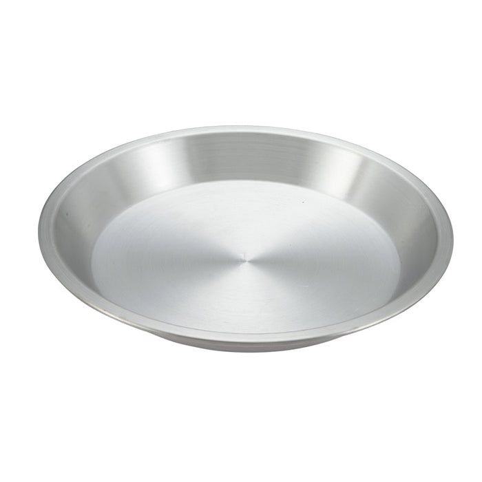 "Winco Appl-9 Pie Pan 9"" Round Aluminum"