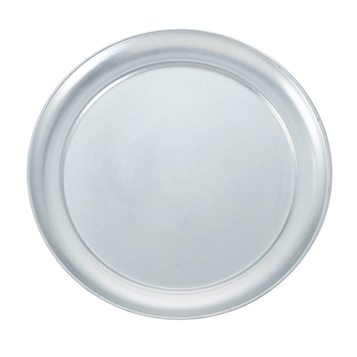"Winco APZT-8 Pizza Pan 8"" Round Wide Rim Aluminum"
