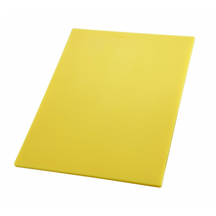"Winco CBYL-1520 Cutting Board 15"" x 20"" BPA Free - Yellow"