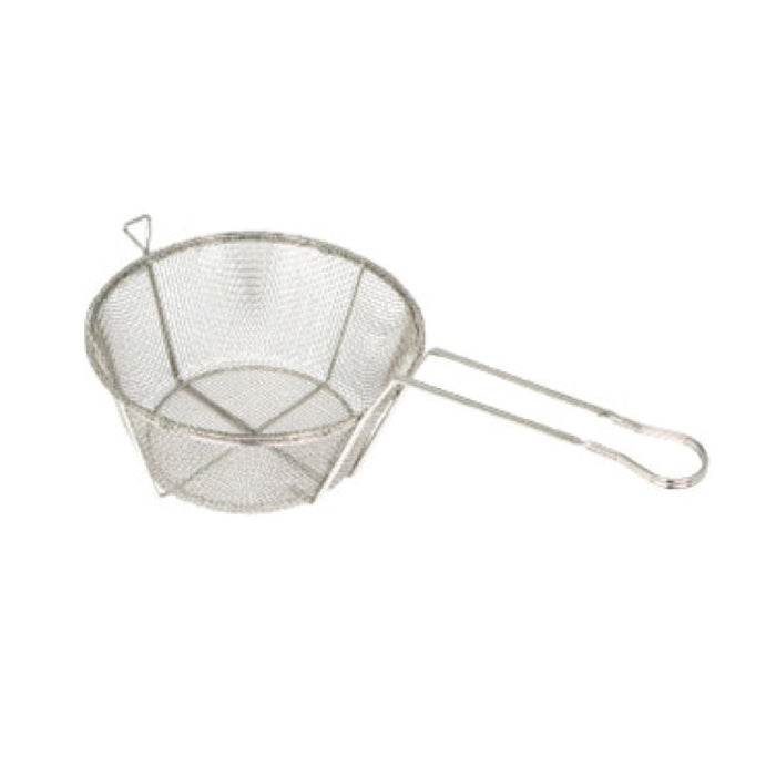 "Winco FBRS-9 Fry Basket 9 5/8"" Round"
