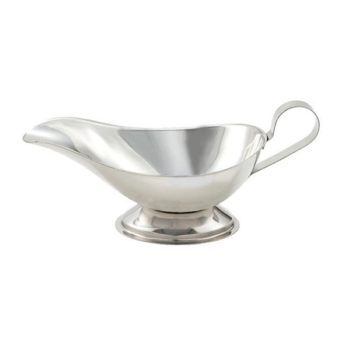 Winco GBS-8 Gravy Boat 8 Ounce Stainless Steel