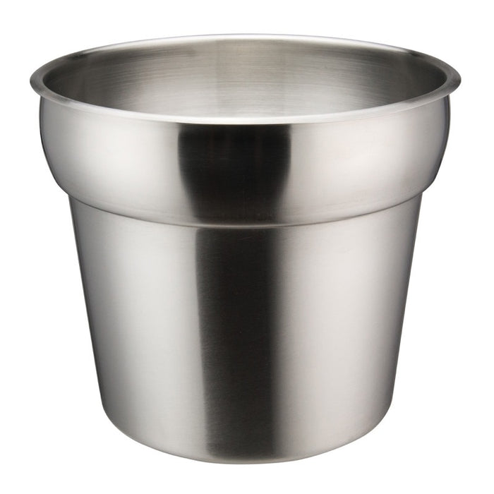 Winco INS-7.0M Inset 7 Quart Round Heavy Weight Stainless Steel
