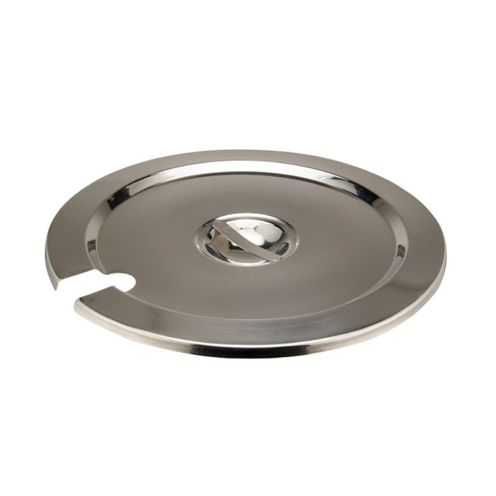 Winco INSC-11M Inset Cover 11 Quart Heavy Weight Stainless Steel
