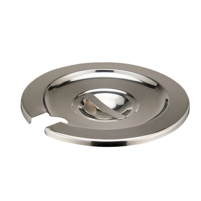 Winco INSC-4 Inset Cover 4 Quart Heavy Weight Stainless Steel