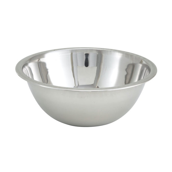 Winco MXB-400Q Mixing Bowl 4 Quart Stainless Steel