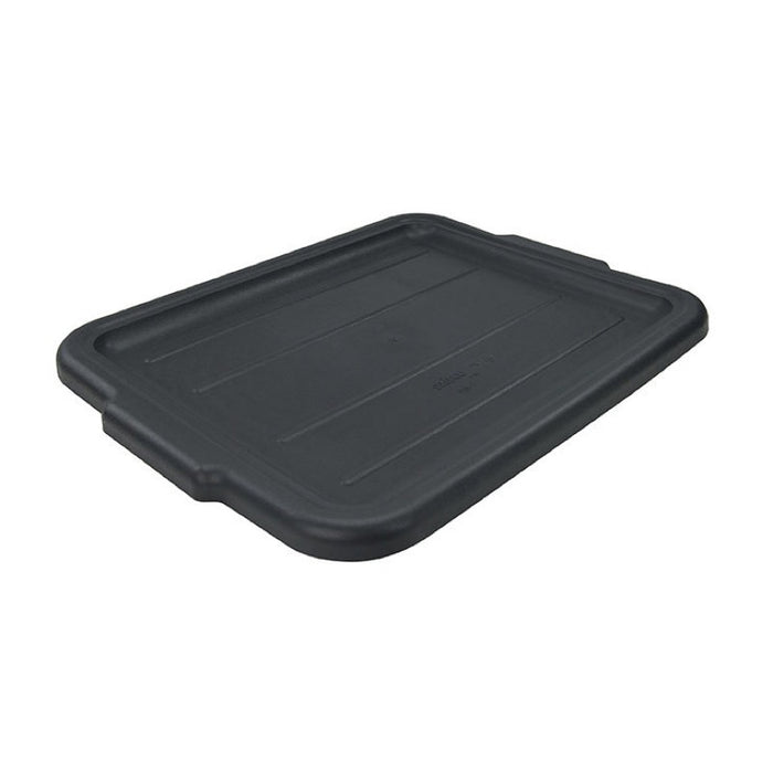 "Winco PLW-CK Cover 21"" x 17"" Polypropylene - Black"