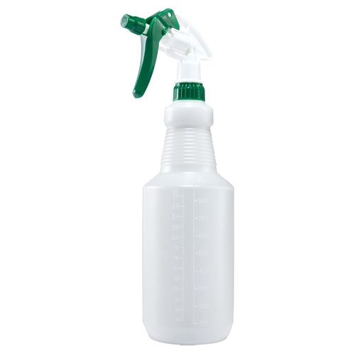 Winco PSR-9 Spray Bottle 28 Ounce Plastic Green & White