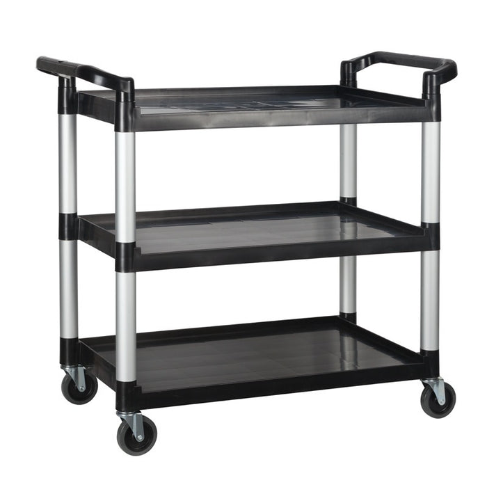 Winco UC-3019K Utility Cart 3-Tier 400 Pound Capacity