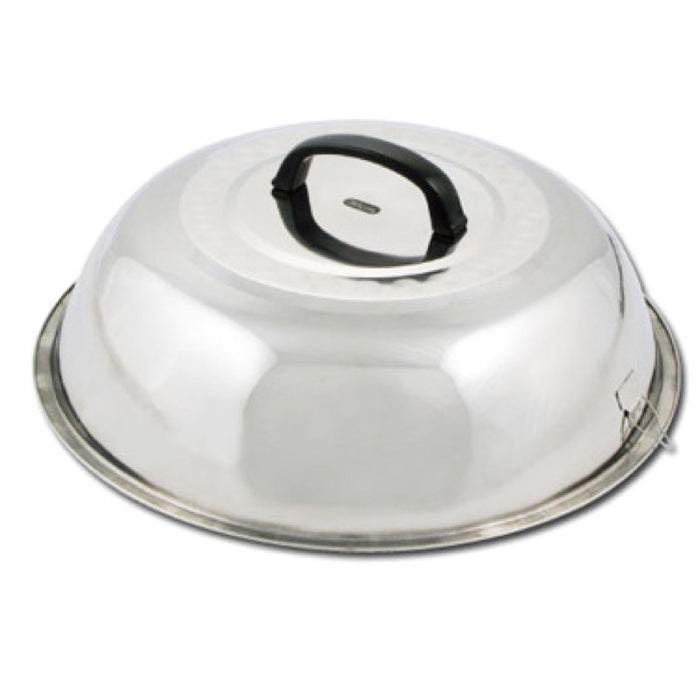 "Winco WKCS-15 Wok Cover 15 3/8"" Stainless Steel"