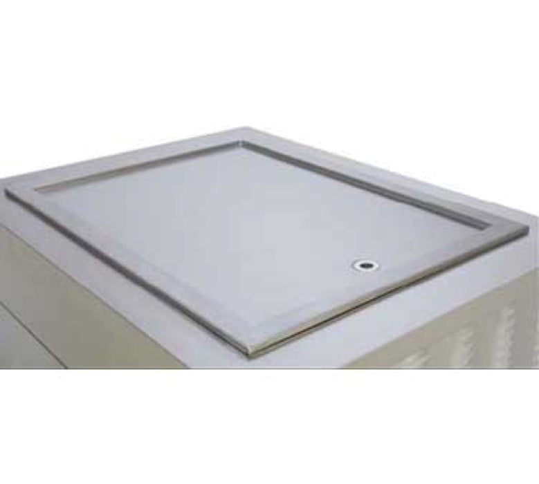 Wells FT-4 Drop In Frost Top With Drain - Stainless Steel