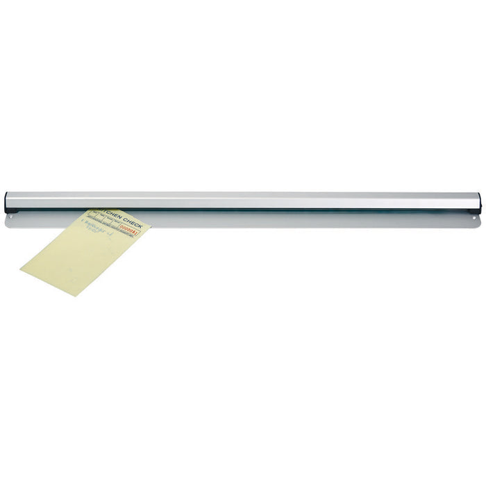 "Winco ODR-24N Ticket Order Rail 24"" Aluminum"