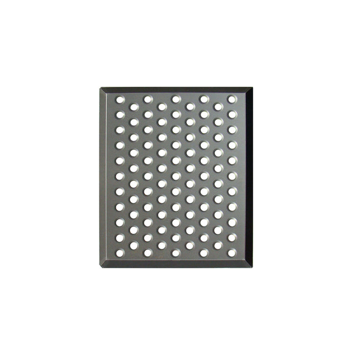 "TurboChef I1-9471 9 1/2"" x 11 3/4"" x 1/2"" Perforated Cooking Pan - Hard Anodized Aluminum"