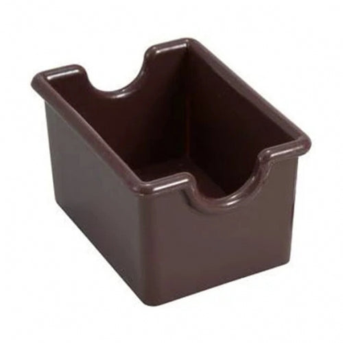 Winco PPH-1B Plastic Sugar Packet Holder Brown
