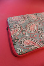 Load image into Gallery viewer, Laptop Sleeve Pink and Grey