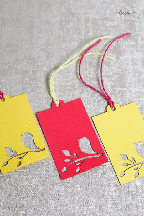 Gift Tag Bird (set of 10)