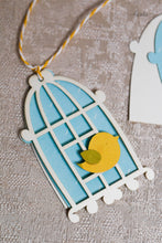 Load image into Gallery viewer, Gift Tag Bird Cage (set of 5)