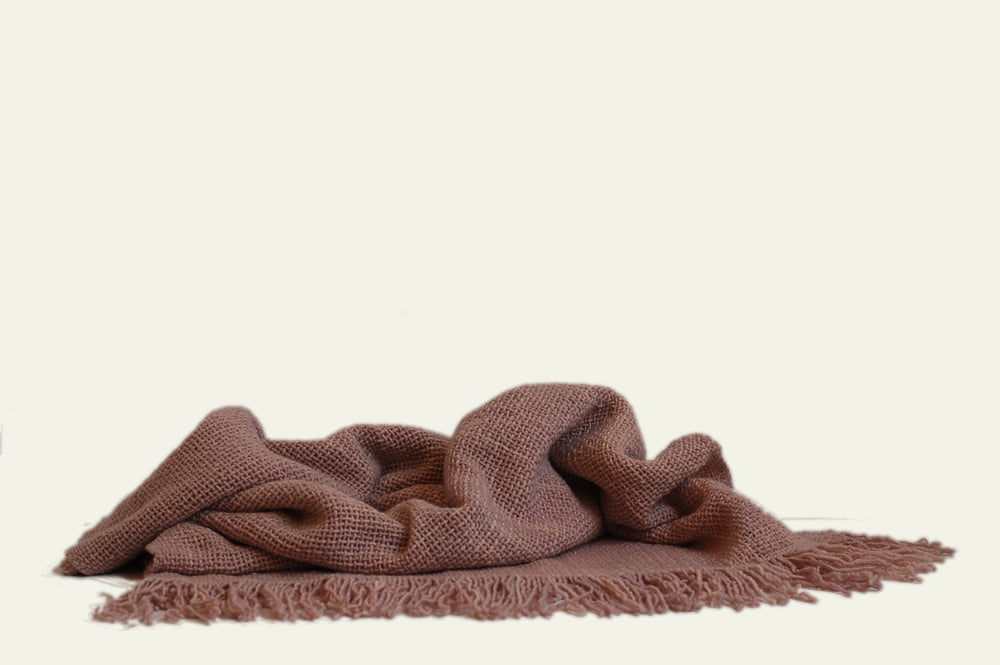 Pink Terracotta Throw