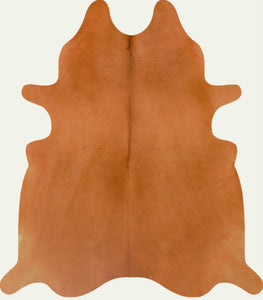 Cowhide Solid Tan Camel
