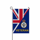 British Armed Forces Veteran Garden Flag/Yard Flag 12 inches x 18 inches Twin-Side Printing
