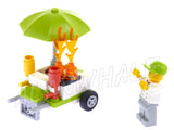 New City Fire Station Truck Firefighter Helicopter 02052 Figure Building Blocks Children Toys  Compatible With LegoING