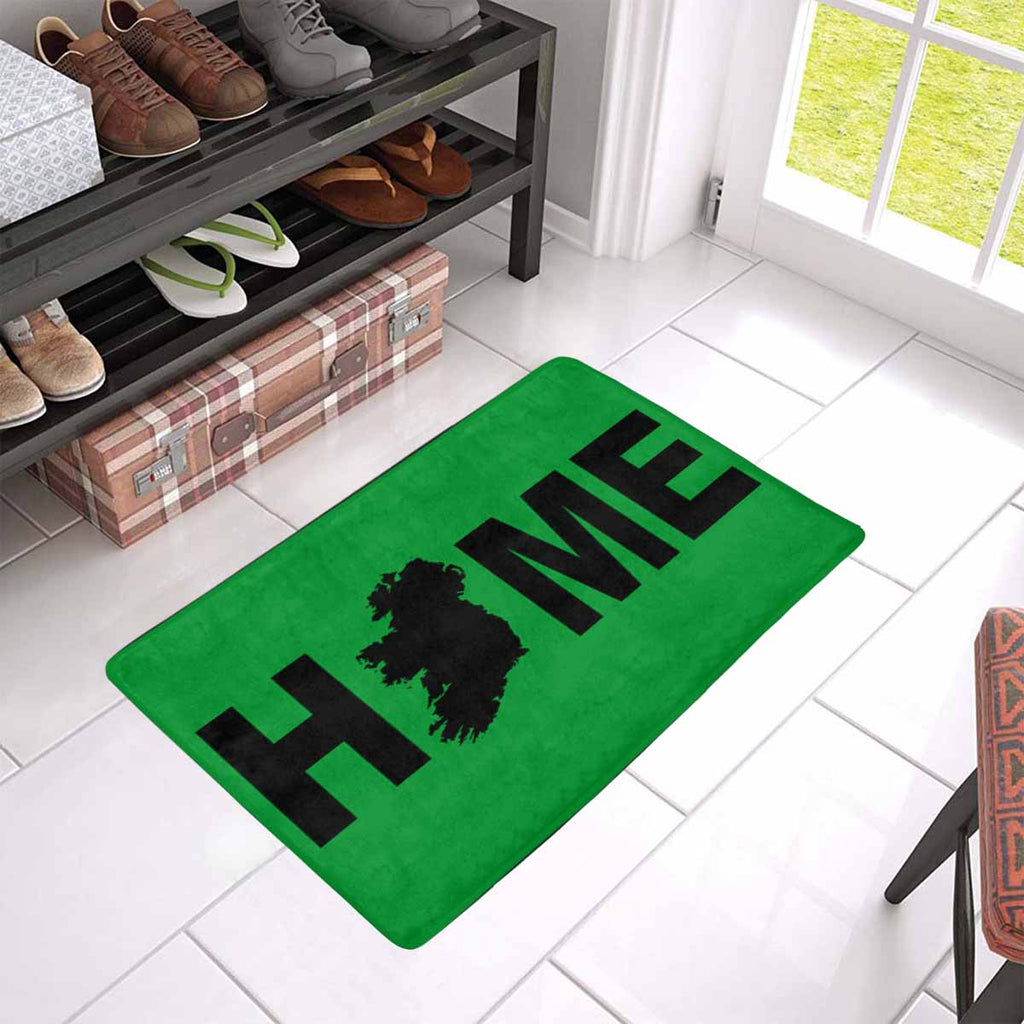 "HOME IRISH Doormat 23.6"" x 15.7"" (New)"