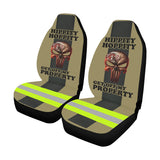 Hippity Hoppity Firefighter Car Seat Covers (Set of 2)