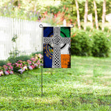 New Hampshire IRISH Garden Flag/Yard Flag 12 inches x 18 inches Twin-Side Printing