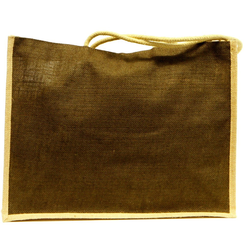 Teacher Peach Eco Friendly Oversized Jute Tote Bag