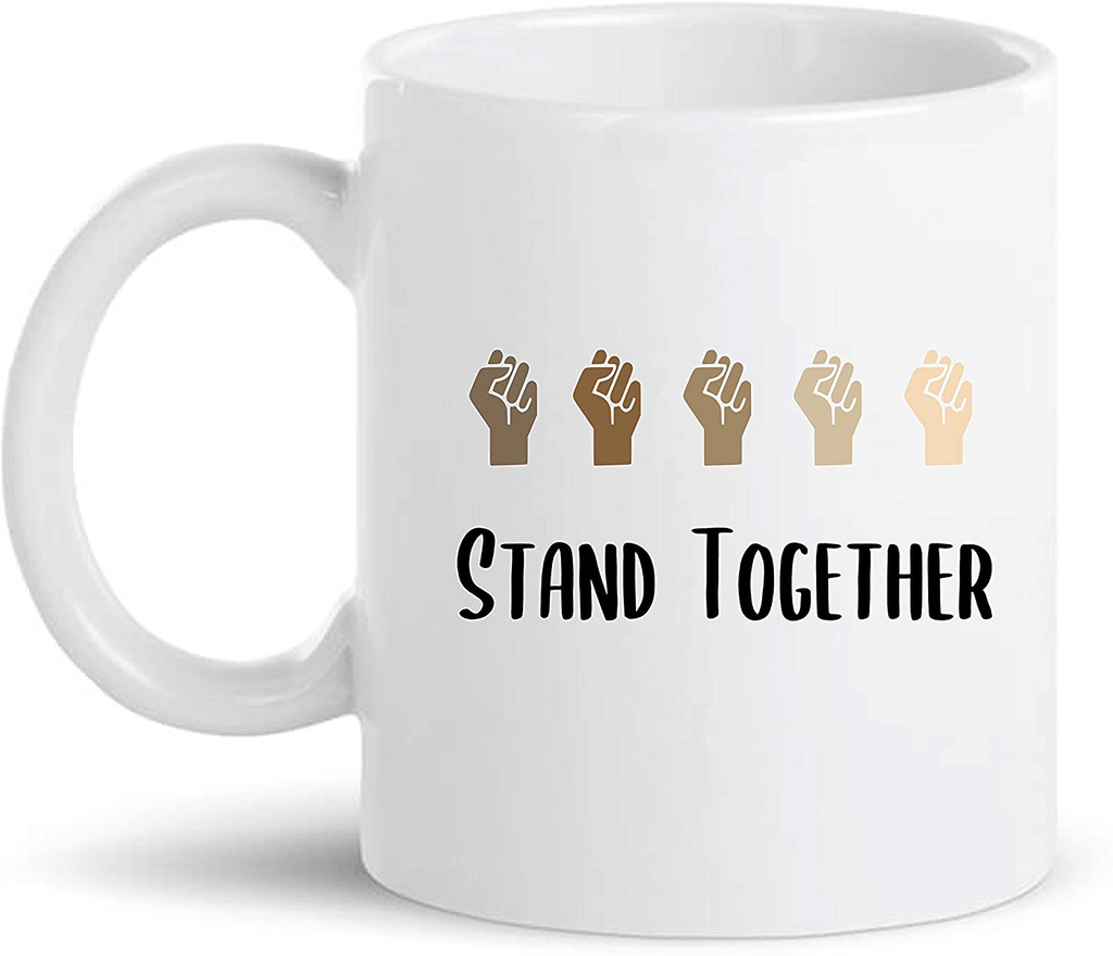 Black Lives Matter Mugs Unique Coffee Mug, Coffee Cup