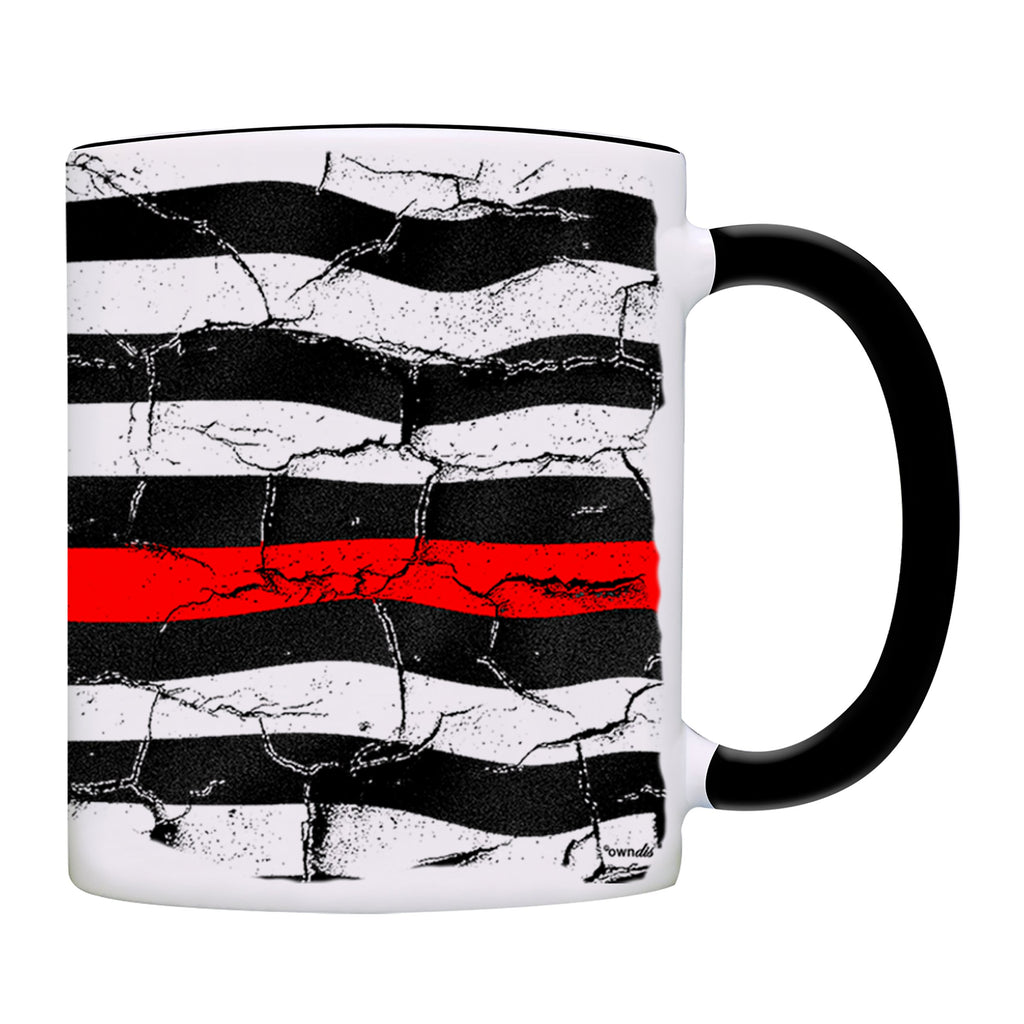 Mug Firefighter USA Flag Coffee Mug