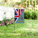 British Royal Air Force Retired Garden Flag/Yard Flag 12 inches x 18 inches Twin-Side Printing
