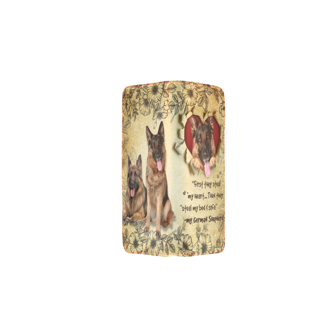 German Shepherd Women's Clutch Purse