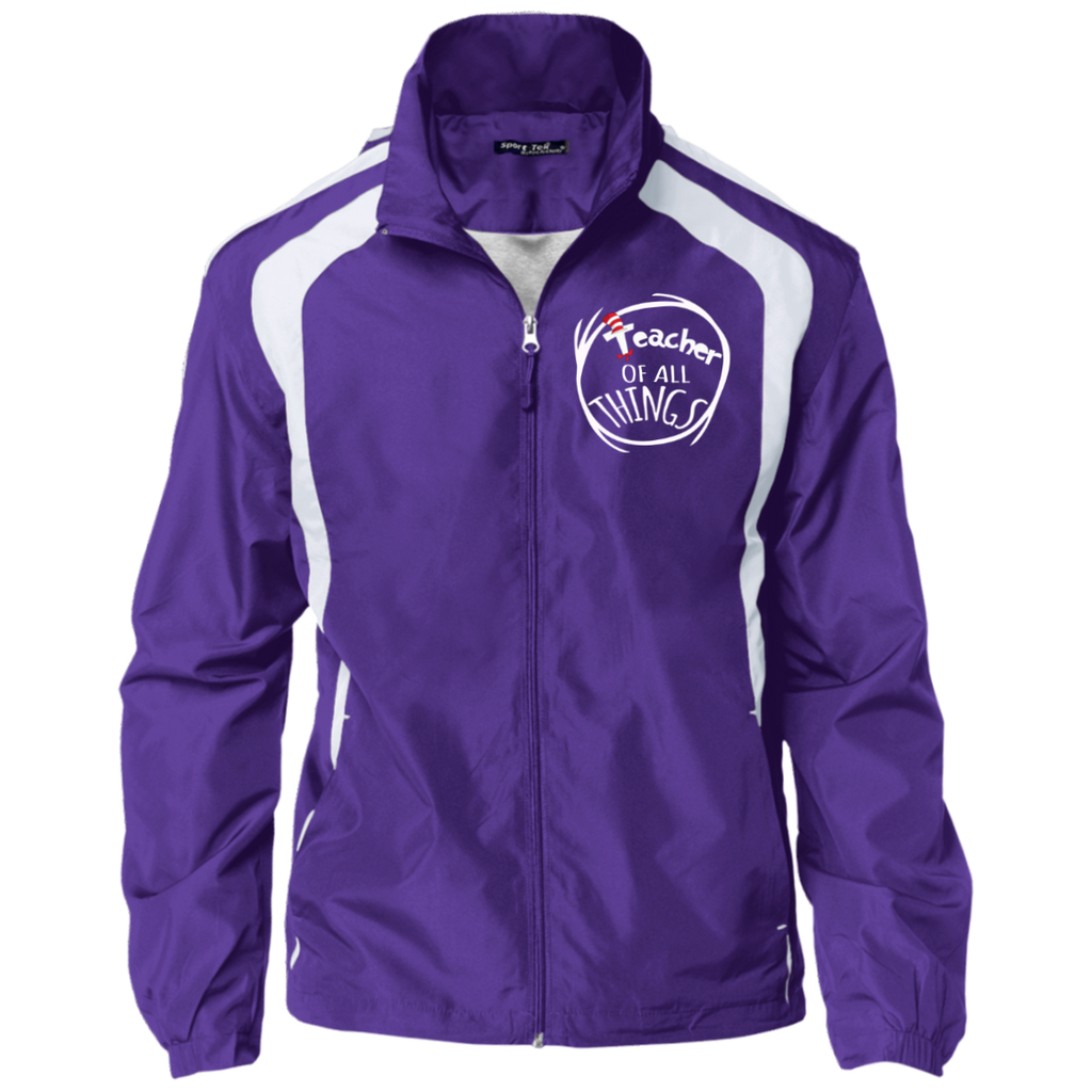 TEACHER OF ALL THING Sport-Tek Jersey-Lined Jacket