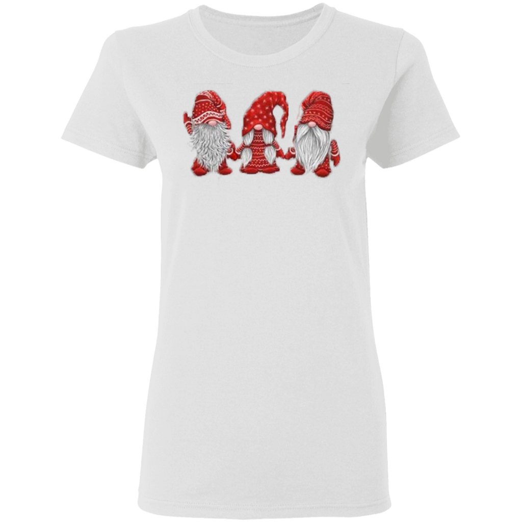 Hanging With Red Gnomies G500L Gildan Ladies' 5.3 oz. T-Shirt
