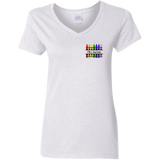 MRS.SMITH 2 G500VL Gildan Ladies' 5.3 oz. V-Neck T-Shirt