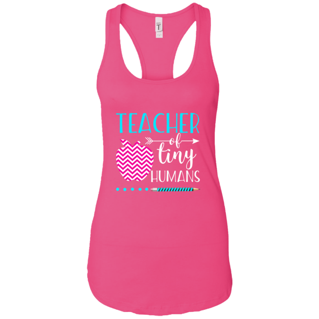 TEACHER OF TINY HUMANS 1 NL1533 Next Level Ladies Ideal Racerback Tank