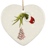 Gr1nch Stolen Ceramic Ornament